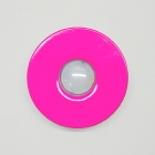 houseArt Artist Series doorbell button - bougainvillea pink
