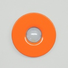 houseArt Artist Series doorbell button - miami mango