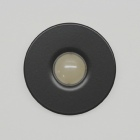 houseArt Artist Series doorbell button - satin black