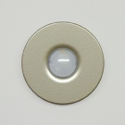 houseArt Artist Series doorbell button - satin silver