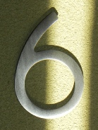houseArt house number - 6