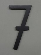 houseArt house number - satin black