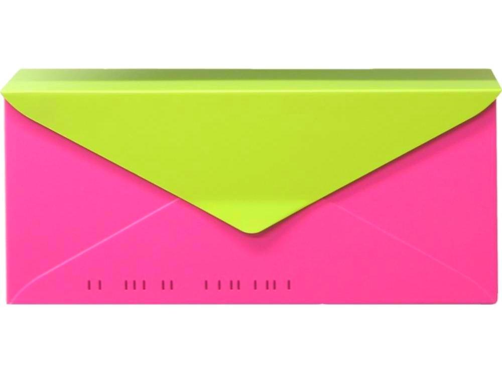 wall mount mailbox envelope. Letterbox - Marshmallow White HouseArt No 10. Bougainvillea  Pink \u0026 Key Lime Combo Wall Mount Mailbox Envelope I